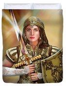 Warrior Bride Of Christ Duvet Cover