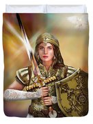 Warrior Bride Of Christ Duvet Cover