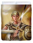 Warrior Bride Duvet Cover