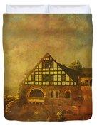 Wartburg Castle Duvet Cover