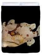 Warty Frogfish Duvet Cover