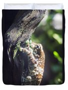 Warty Tree Frog Duvet Cover
