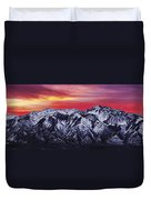 Wasatch Sunrise 3x1 Duvet Cover