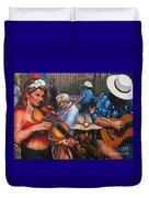 Washboard Lissa On Fiddle Duvet Cover