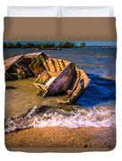 Washed Up Duvet Cover by Dawn OConnor