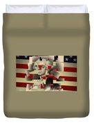 Washington All Broken Up Duvet Cover