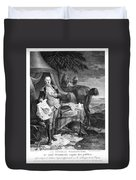 Washington At Yorktown Duvet Cover