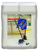 Washington Capitals Blue Away Hockey Jersey Duvet Cover