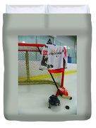Washington Capitals Mike Green Away Hockey Jersey Duvet Cover