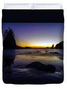 Washington Coast Tides Retreat Duvet Cover