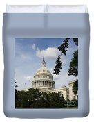 Washington Dc Capitol Dome Duvet Cover