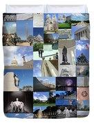 Washington D. C. Collage 3 Duvet Cover