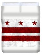 Washington D.c. Flag Duvet Cover