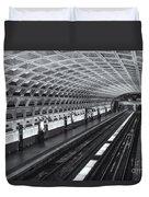 Washington Dc Metro Station I Duvet Cover