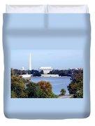 Washington Dc Skyline Duvet Cover