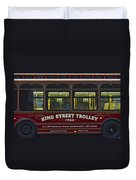 Washington Dc Trolley Duvet Cover