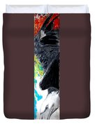 Washington Eagle Two Duvet Cover