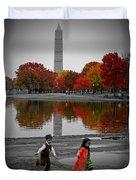 Washington Fall Children Duvet Cover