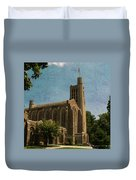 Washington Memorial Chapel Duvet Cover