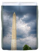 Washington Monument 2 Duvet Cover
