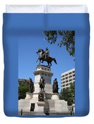 Washington Monument - Richmond Va Duvet Cover