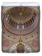 Washington State Capitol Building Chandelier Closeup Duvet Cover