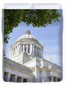 Washington State Capitol Building Dome Duvet Cover