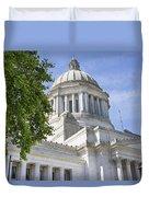 Washington State Capitol Building Duvet Cover