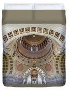 Washington State Capitol Building Rotunda Duvet Cover