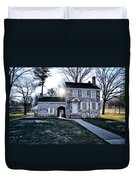 Washington's Headquarters At Valley Forge Duvet Cover