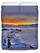 Washoe Ice Duvet Cover
