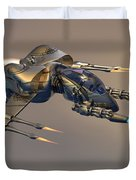 Wasp Fighter Duvet Cover