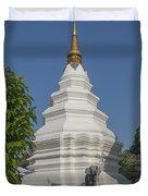 Wat Duang Dee Phra Chedi Dthcm0299 Duvet Cover