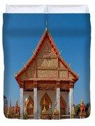 Wat Liab Ubosot Dthu035 Duvet Cover
