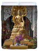 Wat Luang Buddha Image Dthu029 Duvet Cover