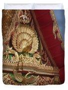 Wat Luang Pu Supa Ubosot Gable Dthp330 Duvet Cover