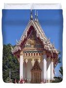 Wat Mahawanaram Ubosot Dthu652 Duvet Cover