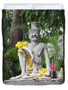Wat Pho, Thailand Duvet Cover