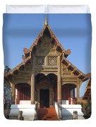 Wat Phra Singh Phra Ubosot Dthcm0246 Duvet Cover