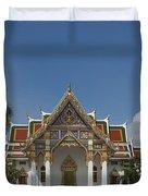 Wat Phrasri Mahathat Ubosot Dthb1462 Duvet Cover