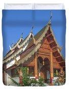 Wat Phuak Hong Phra Wihan Dthcm0582 Duvet Cover