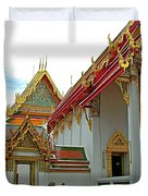 Wat Po In Bangkok-thailand Duvet Cover