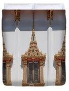 Wat Sapum Thammaram Ubosot Windows Dthp227 Duvet Cover