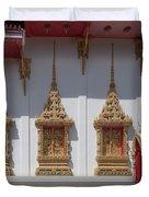 Wat Suwan Khiri Khet Ubosot Windows Dthp273 Duvet Cover