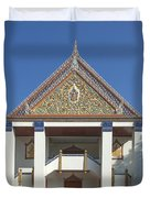 Wat Thewasunthon Preaching Hall Or Sala Kan Prien Dthb1422 Duvet Cover