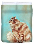 Watch Cat Duvet Cover