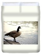 Watching From Afar Duvet Cover