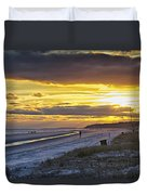 Watching The Sun Set Duvet Cover
