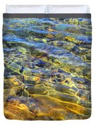 Water Abstract Duvet Cover