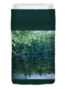 Water At Peace Duvet Cover